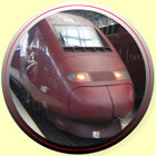 Thalys Trains Paris, France Amsterdam Netherlands
